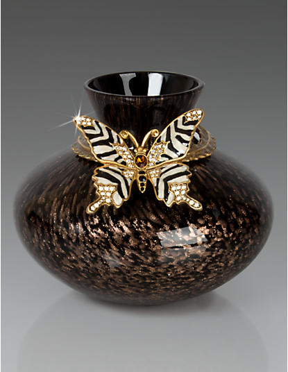 Lorelei Butterfly Vase - Safari