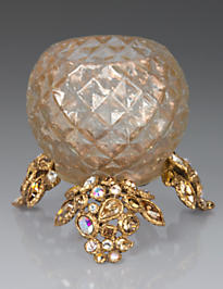 Tessa Bejeweled Tealight - Golden