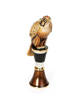 Epsen Falcon Wine Stopper & Stand - Natural