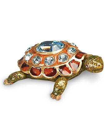 March Turtle Birthstone Box