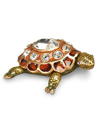 April Turtle Birthstone Box