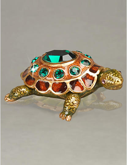 May Turtle Birthstone Box