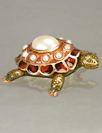 June Turtle Birthstone Box