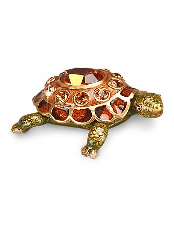 November Turtle Birthstone Box