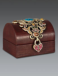 Lolita Treasure Leather Box - Spice
