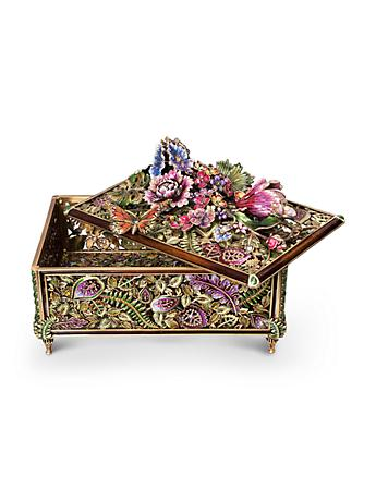 Genevieve Grand Floral Chest - Flora