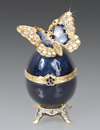 Amelie Butterfly Egg Box - Delft Garden