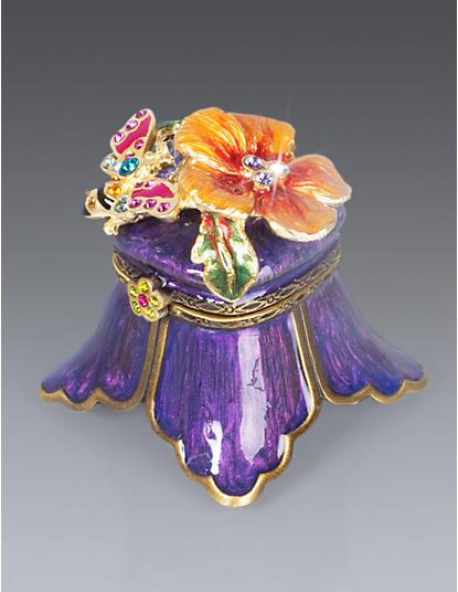 Petunia Flower & Bee Box - Periwinkle