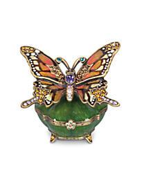 Joyce Butterfly Box - Olivine