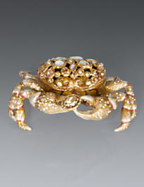 Gavin Crab Box - Golden