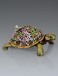 Milton Mille Fiori Turtle Box - Flora