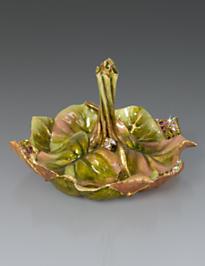 Scarlett Leaf Ring Dish - Flora