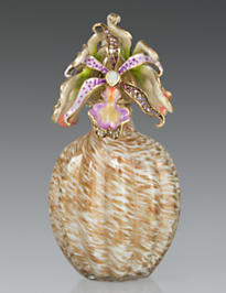 Norma Orchid Cluster Perfume Bottle - Flora