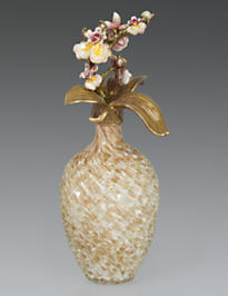Mayfield Orchid Branch Perfume Bottle - Flora
