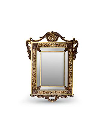 Laurent Arabesque Wall Mirror - Gold