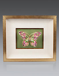 Single Butterfly Wall Objet - Leaf