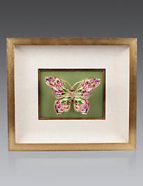 Single Butterfly Wall Objet - Leaf
