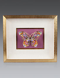 Single Butterfly Wall Objet - Azalea