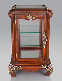Cordelia Floral Vine Curio Cabinet - Bouquet