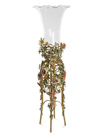 Madden Floral Standing Vase - Jewel