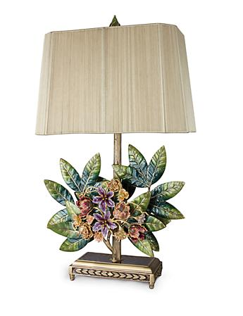 Marcy Bouquet & Leaf Lamp - Flora