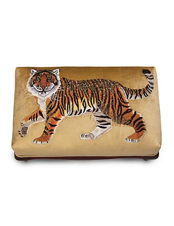 Desmond Tiger Ottoman - Natural