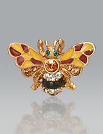 Nigel Bumblebee Tack Pin - Flora