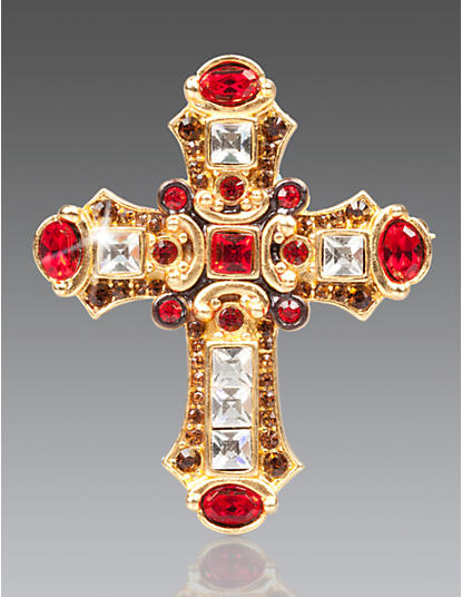 Christian Medieval Cross Pin/Pendant - Siam