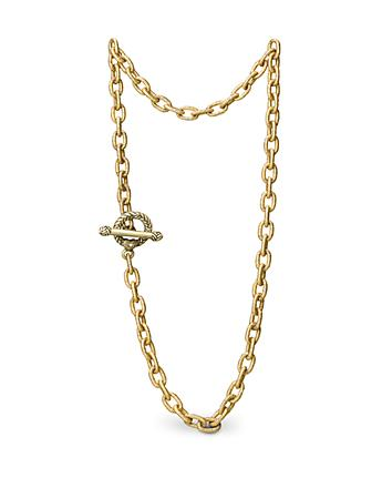 "Jeanne Toggle Necklace - 18.5"" - Gold"