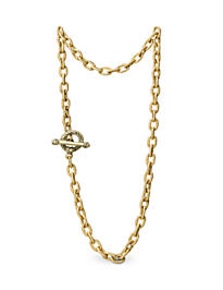 Jeanne Toggle Necklace - 17
