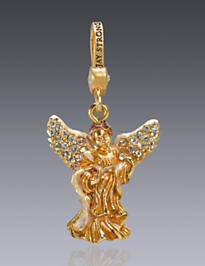 Angelica Angel Charm - Golden