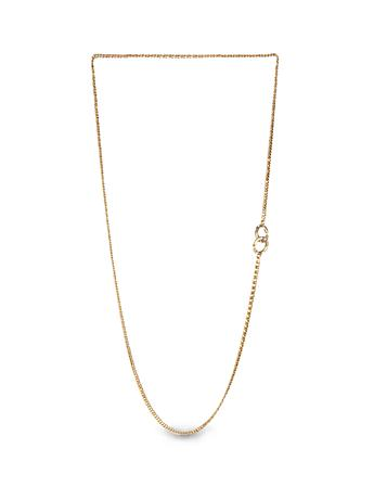 "Ada Mini Toggle Necklace - 32"" - Gold"
