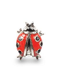 Caroline Ladybug Tack Pin - Siam