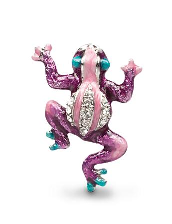 Peter Frog Tack Pin - Purple
