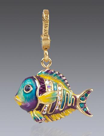 Linus Tropical Fish Charm - Tropical