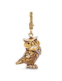 Albert Owl Charm - Natural