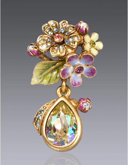 Daniella Bouquet Drop Tack Pin - Opal