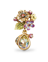 Daniella Bouquet Drop Tack Pin - Opal