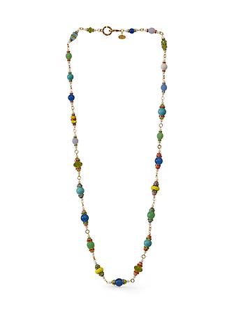 "36"" Beaded Necklace - Flora"