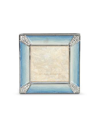 "Leland Pave Corner 2"" Square Frame - Pale Blue"
