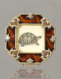 Small Octagonal Frame - Tiger's Eye