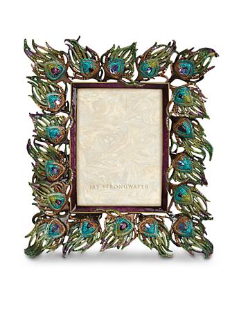 "Ferdinand Peacock Feather 5"" x 7"" Frame"