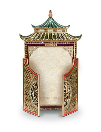 "Colette Pagoda 5"" x 7"" Frame - Chinoiserie"