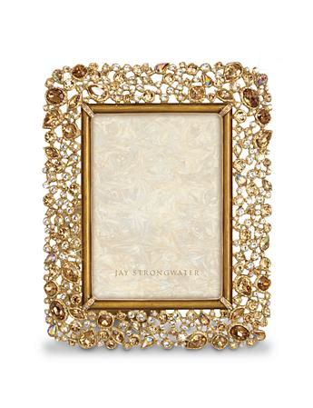 "Javier Bejeweled 5"" x 7"" Frame - Golden"