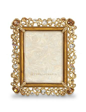 "Claudio Bejeweled 3"" x 4"" Frame - Golden"