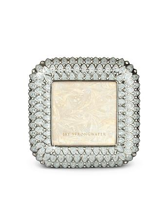 "Marshall Feather 4"" Square Frame - Crystal Pearl"