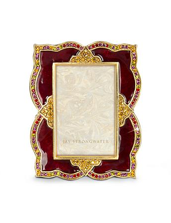 "Dionne Scalloped 2"" x 3"" Frame - Ruby"
