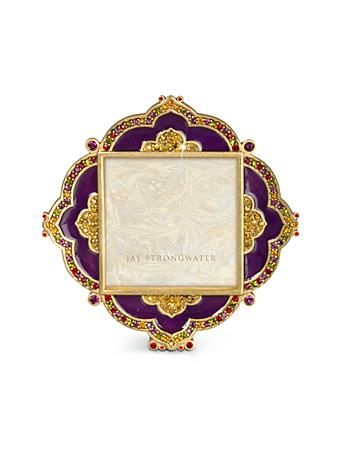 "Warner Diamond 2"" Square Frame - Amethyst"