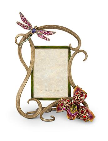 "Thelma Lily & Dragonfly 5"" x 7"" Frame - Flora"