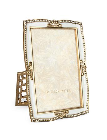 "Graham Scalloped 4"" x 6"" Frame - Golden"